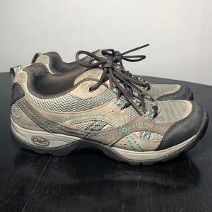 Chaco Trail Hiking Shoes Sneakers Bungee Size 6.5